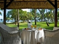 La Pirogue Mauritius Room Breakfast table with view(Copy)