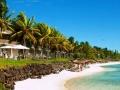 Solana Beach Hotel Mauritius - Beach view