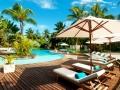 Solana Beach Hotel Mauritius - Pool view