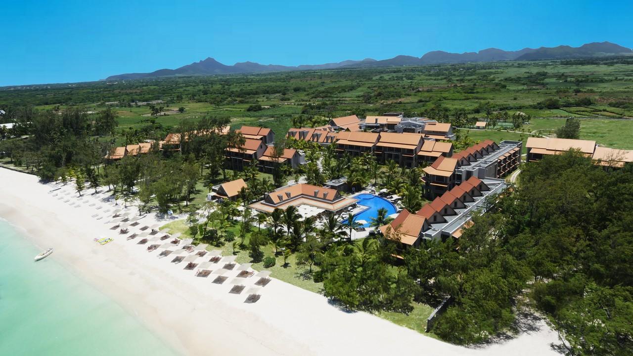 4637Maritim Crystals Beach Hotel Mauritius - Aerial View
